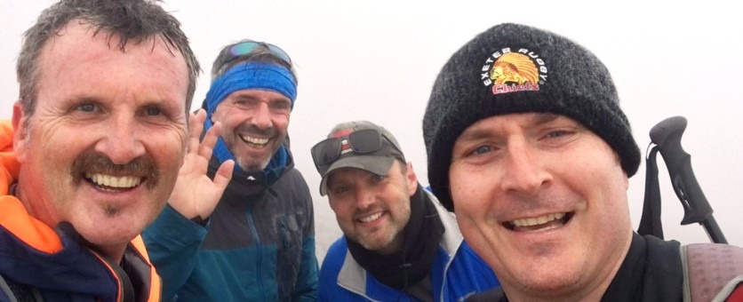 Four directors reach summit of final peak image