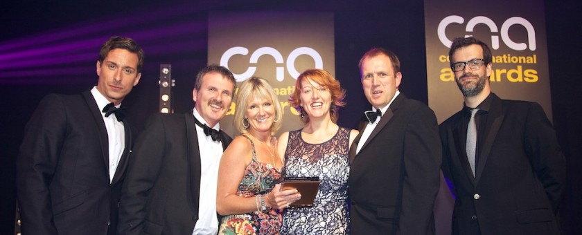 swcomms collects vertical solution award at Comms National Awards image