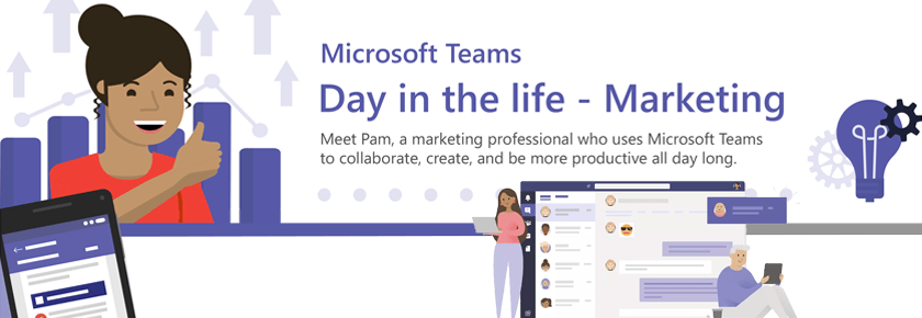 Microsoft-teams-a-day-in-the-life-marketing