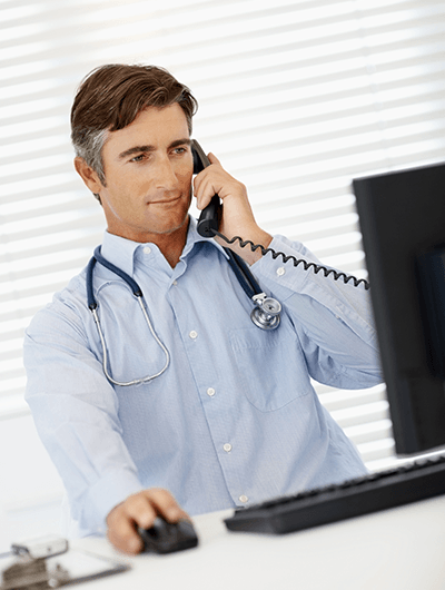Call recording and reporting for GP surgeries
