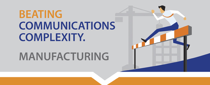 communications complexity in the manufacturing sector image