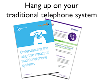 Hang up on traditional phones