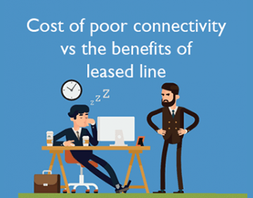 Cost of poor connectivity