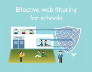 Infographic: Effective web filtering for schools