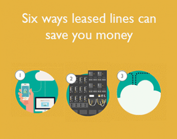 Six ways leased lines can save you money