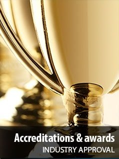 Accreditation and awards