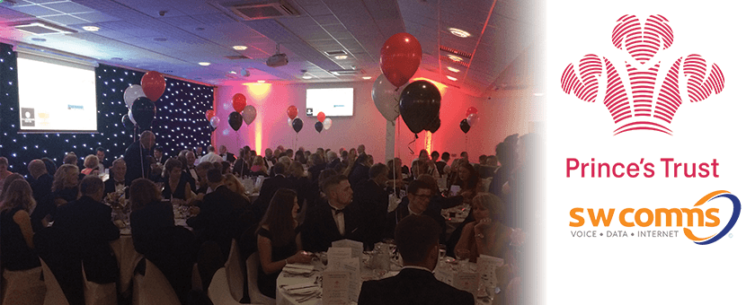 swcomms and Prince's trust ball image