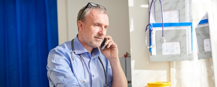 GP using telephone triage to cut patient waiting times
