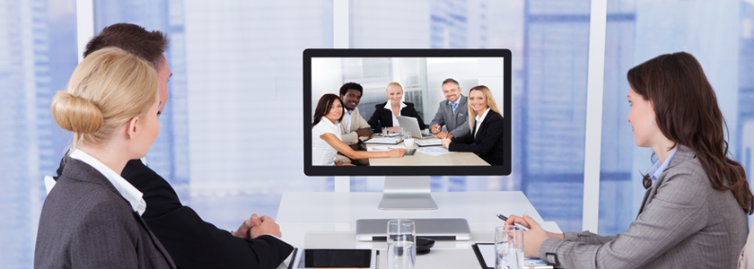 Video, audio and data conferencing