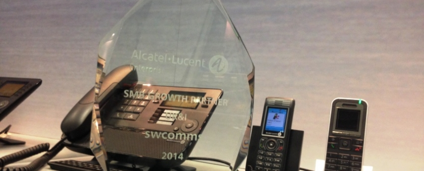 ALU SMB award for swcomms image