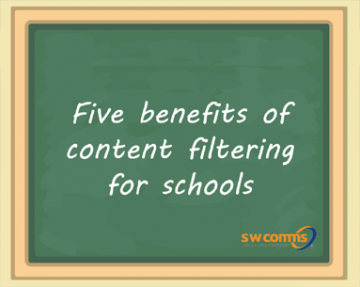 Five benefits of content filtering in school